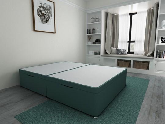 Ottoman Storage Side Lift Divan Bed Base