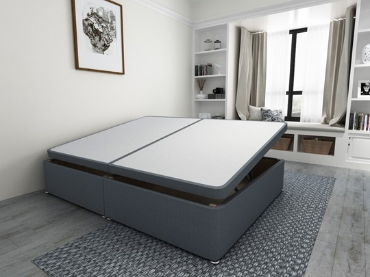 Ottoman Storage Side Lift Divan Bed Base