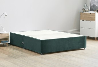 Reinforced Divan Bed Base - 4'6'' Standard Double Duckegg