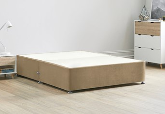 Reinforced Divan Bed Base - 6'0'' Super King Latte