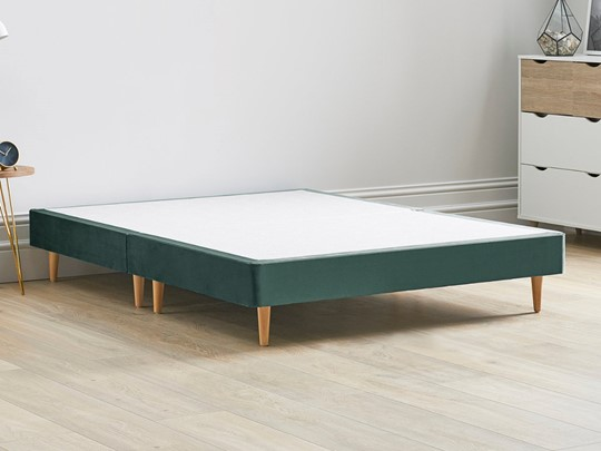 Divan Bed Base On Wooden Legs