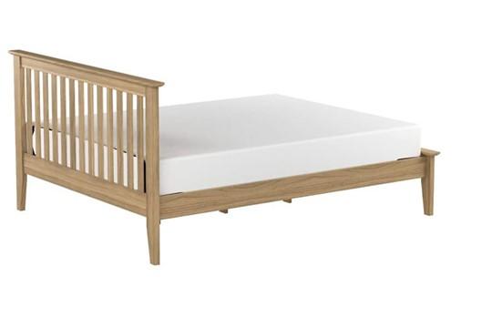 Salerno Solid Oak Shaker Bed