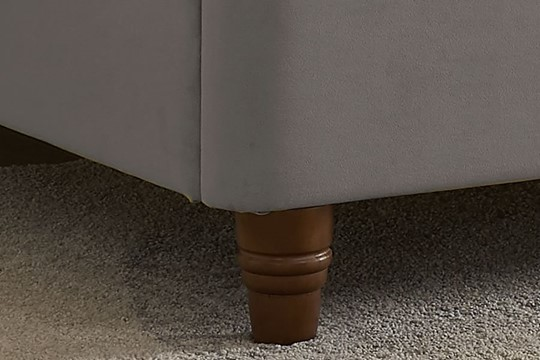 Lexie Low Footend Fabric Bedframe