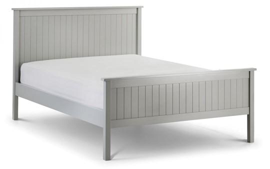Maine Grey Wooden Bedframe