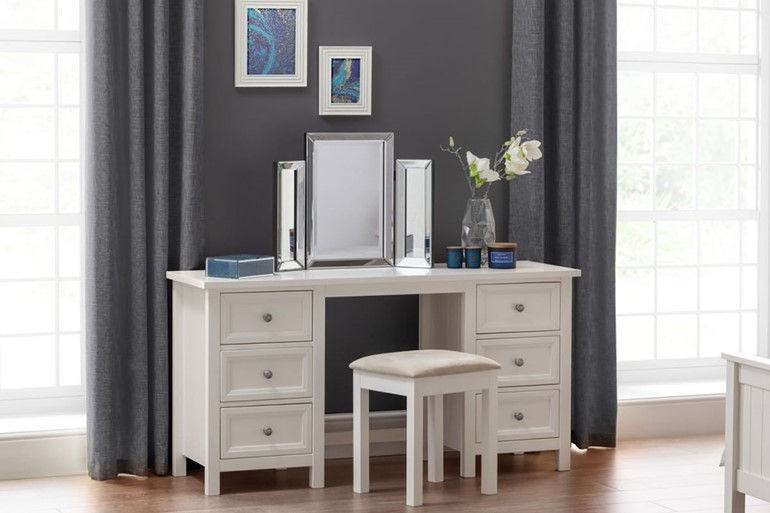 Maine White Dressing Table