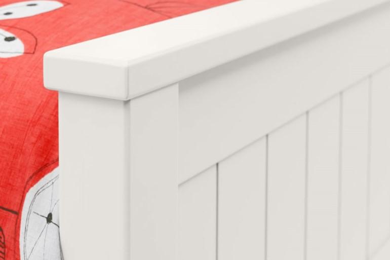 Maine White Bookcase Bed