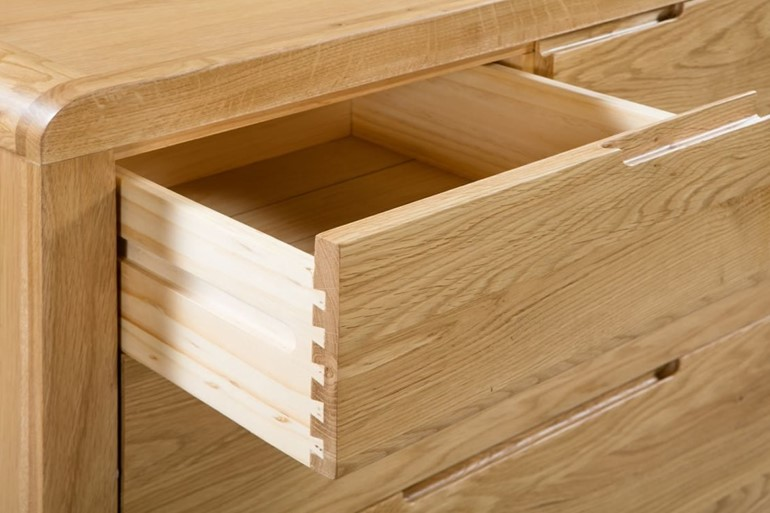 Curve 3+2 Drawer Chest