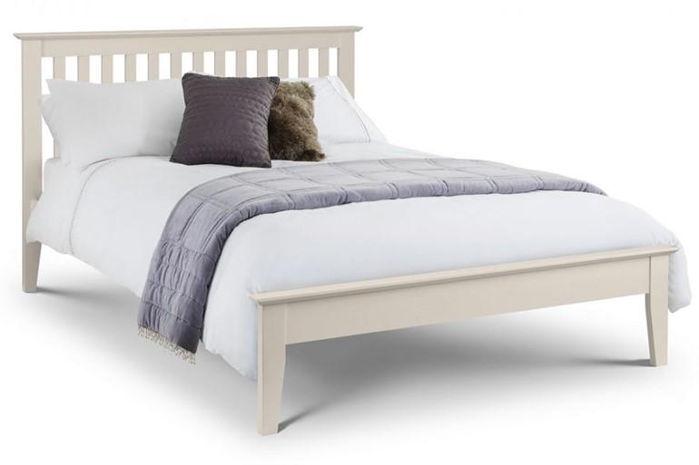 Salerno Ivory Shaker Bed