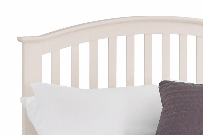 Olivia Stone White Bedframe