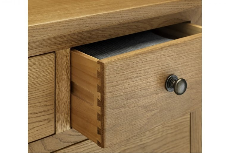 Marlborough Oak 1 Drawer Bedside