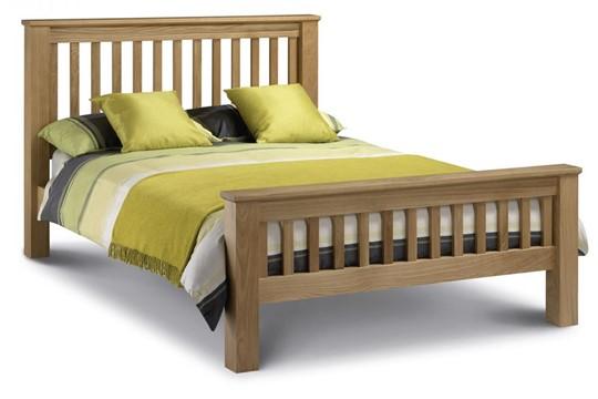 Amsterdam Oak Bed